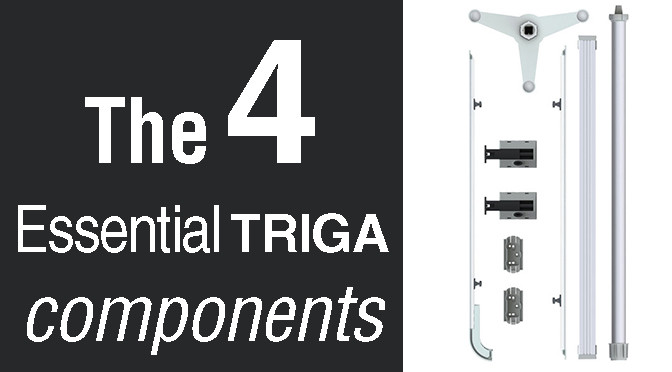 The 4 Essential TRIGA components