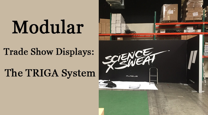 Modular Trade Show Displays: The TRIGA System